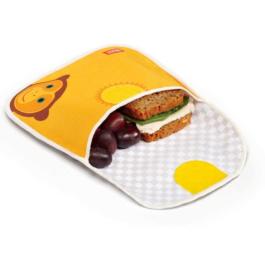 Built Ny Le Buds Kids Sandwich Bag