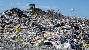 plastic bags landfill